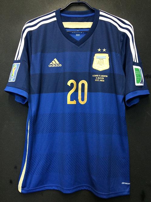 【2014】 / Argentina / Away / No.20 AGUERO / FIFA World Cup