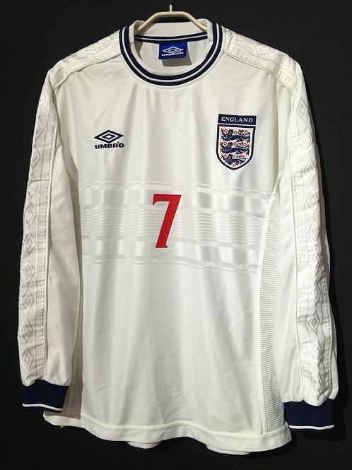 【1999/2001】 / England / Home / No.7 BECKHAM