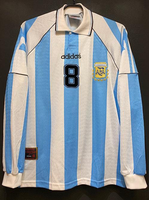 【1996/97】 / Argentina / Home / No.8 SIMEONE
