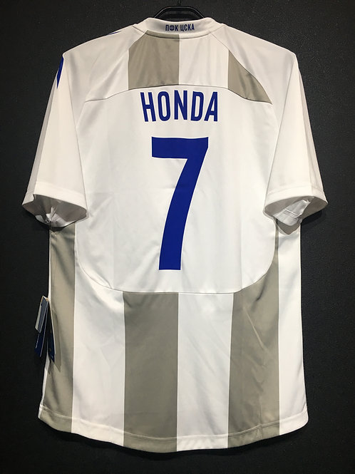 【2011/12】 / CSKA Moscow / Away / No.7 HONDA