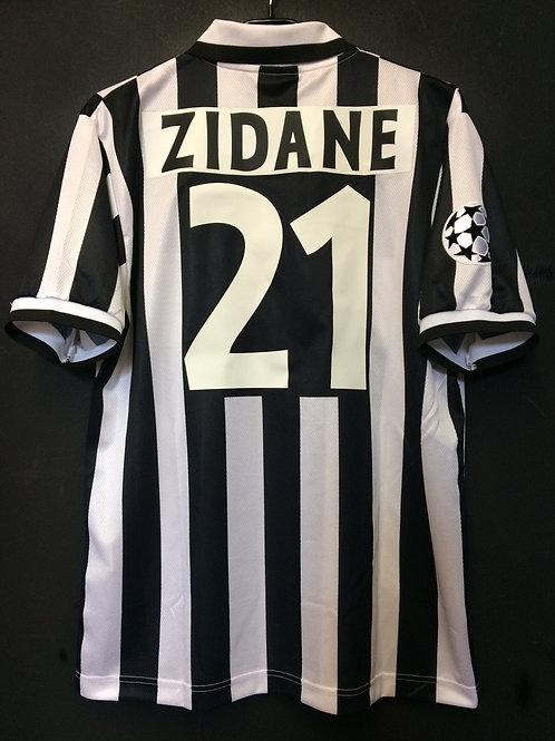 【1996/97】 / Juventus / Cup(Home) / No.21 ZIDANE / UCL