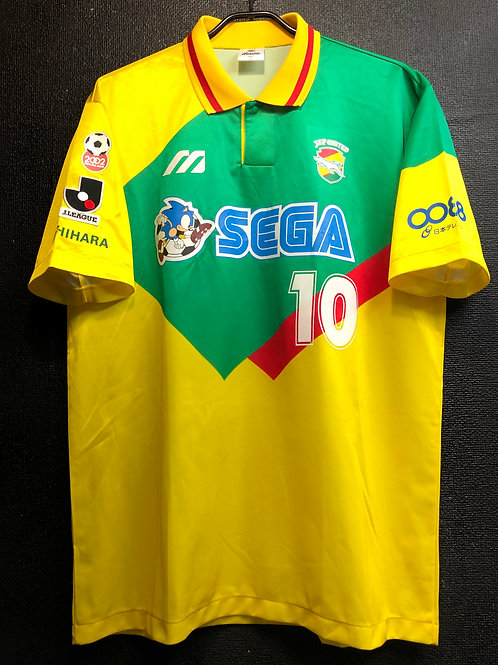 【1996】 / JEF United Chiba / Home / No.10 / Player Issue