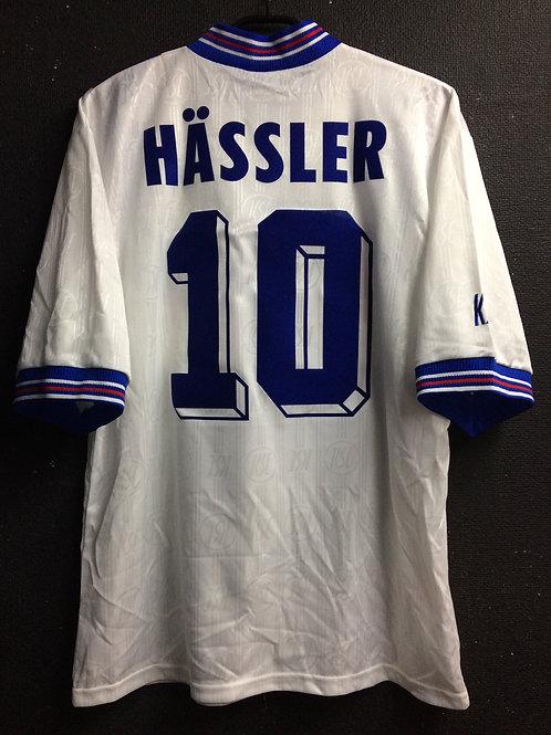 【1996/98】 / Karlsruher SC / Home / No.10 HASSLER