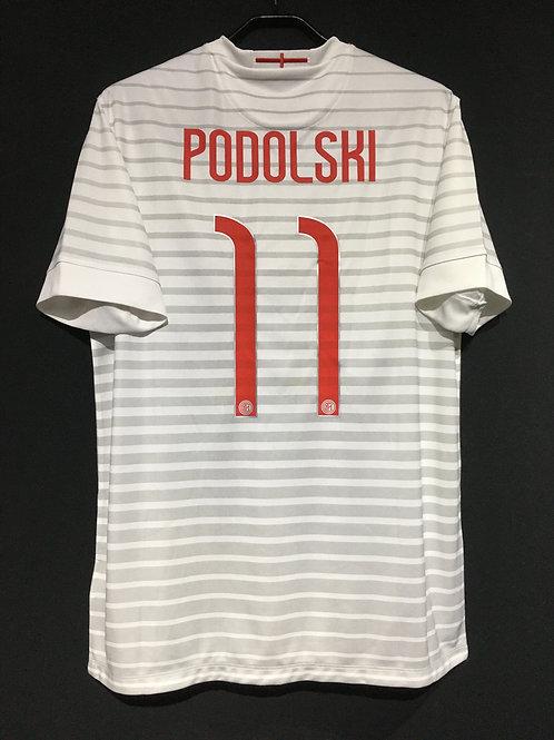 【2014/15】 / Inter Milan / Away / No.11 PODOLSKI