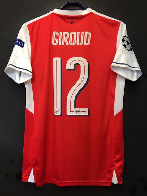 【2016/17】 / Arsenal / Home / No.12 GIROUD / UCL