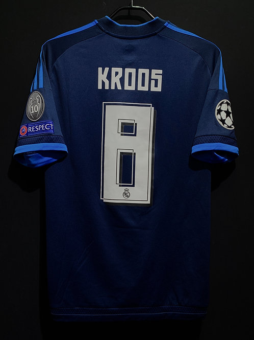 【2015/16】 / Real Madrid C.F. / 3rd / No.8 KROOS / UCL