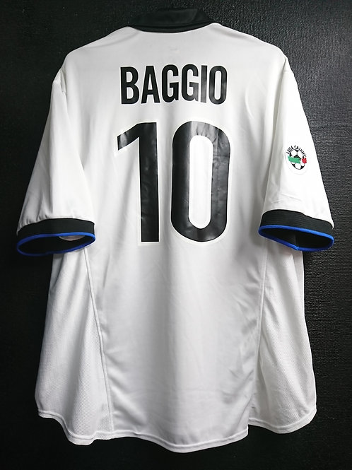 【1998/99】 / Inter Milan / Away / No.10 BAGGIO / Player Issue
