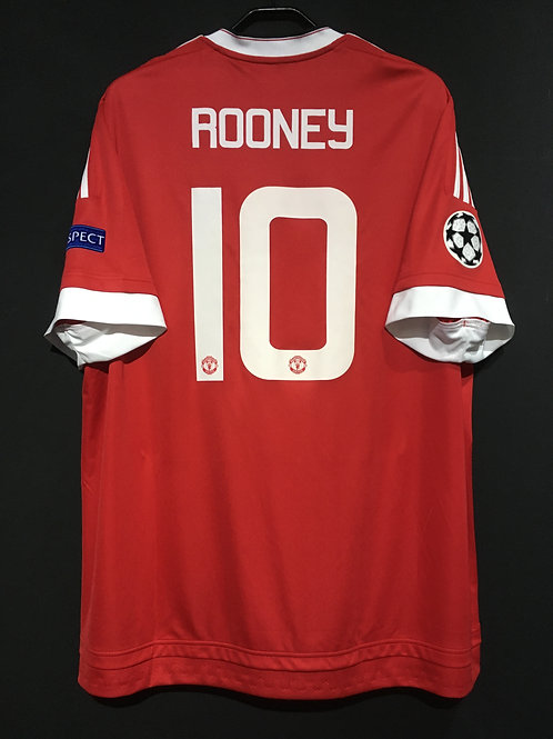 【2015/16】 / Manchester United / Home / No.10 ROONEY / UCL
