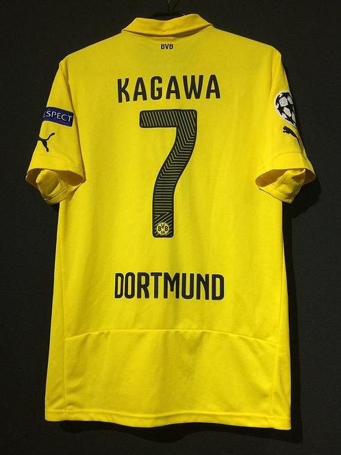 【2014/15】 / Borussia Dortmund / Cup(Home) / No.7 KAGAWA / UCL