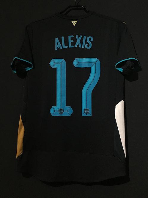 【2015/16】 / Arsenal / 3rd / No.17 ALEXIS / Cup