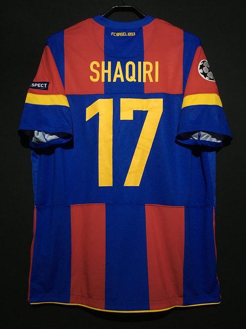 【2011/12】 / FC Basel / Home / No.34 G.XHAKA / UCL