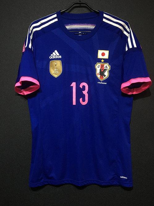 【2014/15】 / Japan Women's / Home / No.13 UTSUGI / Authentic