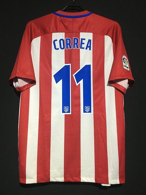 【2016/17】 / Atletico Madrid / Home / No.11 CORREA
