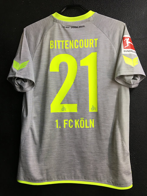 【2017/18】 / 1. FC Koln / Away / No.21 BITTENCOURT