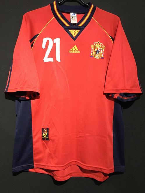 【1998/99】 / Spain / Home / No.21 LUIS ENRIQUE