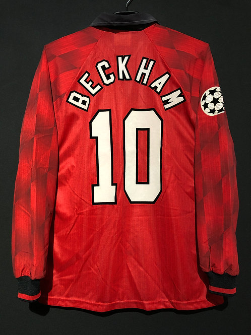 【1996/97】 / Manchester United / Home / No.10 BECKHAM / UCL