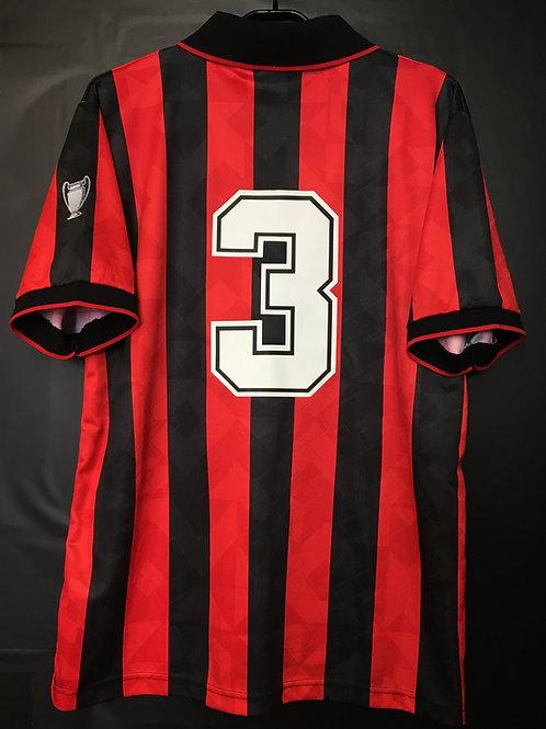 【1994/95】 / A.C. Milan / Home / No.3