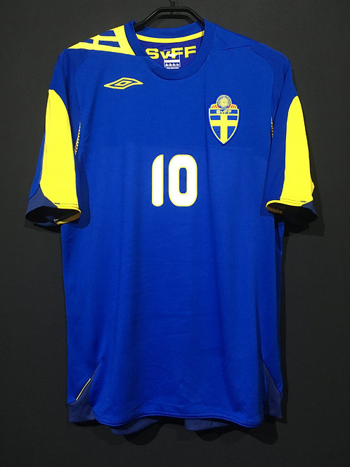 【2006/08】 / Sweden / Away / No.10 IBRAHIMOVIC