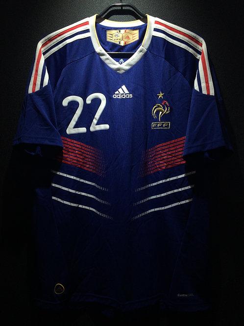 【2010】 / France / Home / No.22 RIBERY