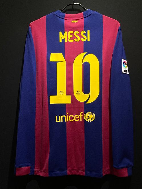 【2014/15】 / FC Barcelona / Home / No.10 MESSI