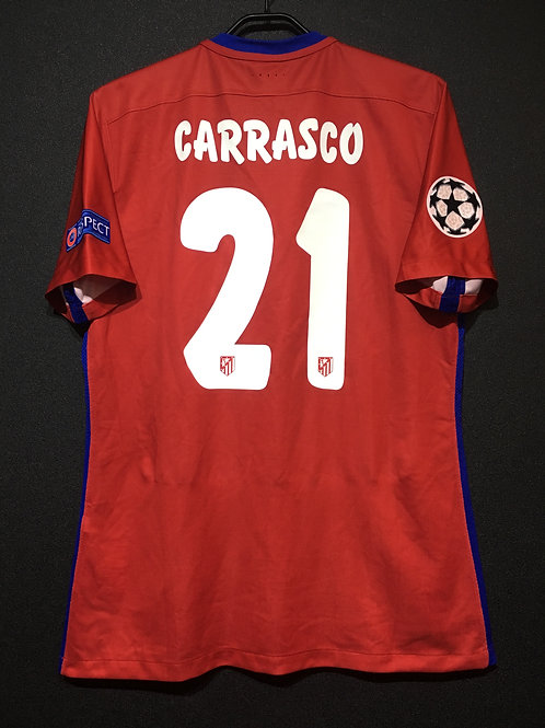 【2016】 / Atletico Madrid / Home / No.10 CARRASCO / UCL Final / Player Issue