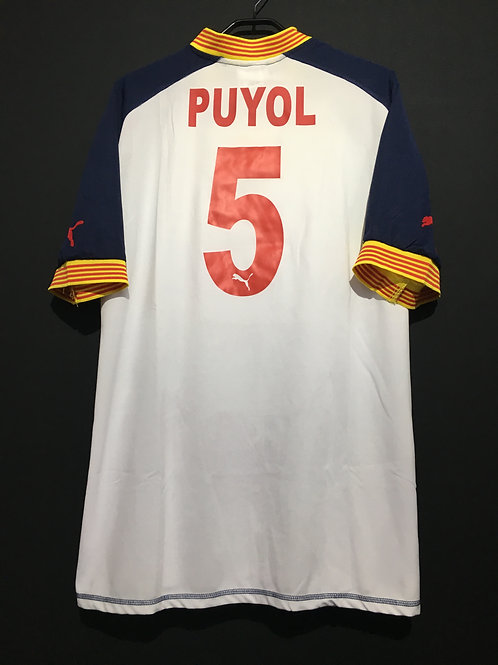 【2004/05-2006/07】 / Catalonia / Away / No.5 PUYOL