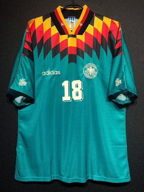 【1994/95】 / Germany / Away / No.18 KLINSMANN
