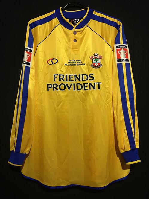 【2003】 / Southampton F.C. / Home / FA Cup Final