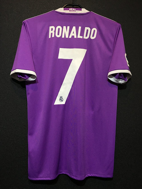 【2016/17】 / Real Madrid C.F. / Away / No.7 RONALDO