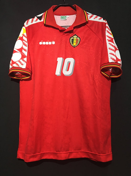 【1994/95】 / Belgium / Home / No.10 SCIFO