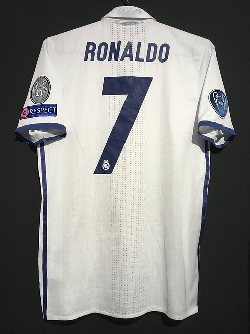 【2016/17】 / Real Madrid C.F. / Home / No.7 RONALDO / UCL / Authentic