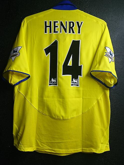 【2003/04】 / Arsenal / Away / No.14 HENRY