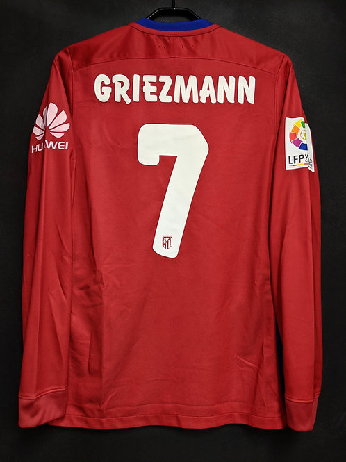 【2015】 / Atletico Madrid / Home / No.7 GRIEZMANN / World Challe / Player Issue