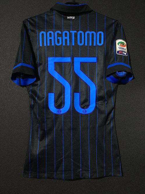 【2014/15】 / Inter Milan / Home / No.55 NAGATOMO / Authentic
