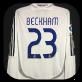 2006 real madrid Beckham