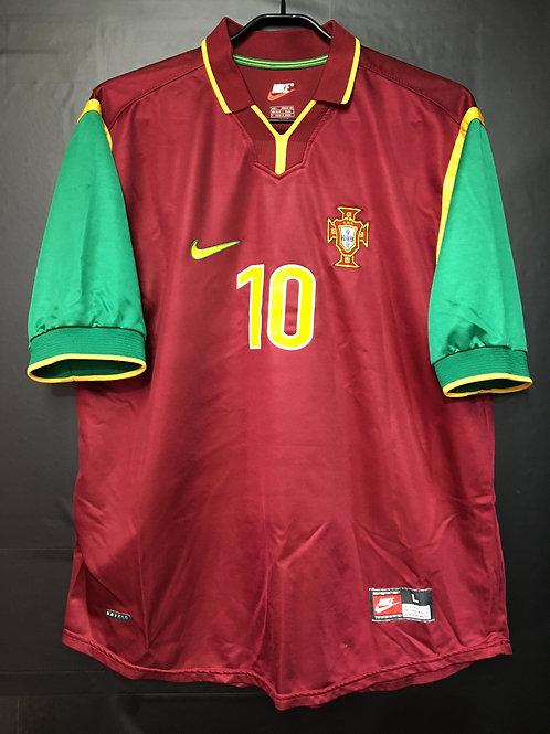【1998/99】 / Portugal / Home / No.10 RUI COSTA