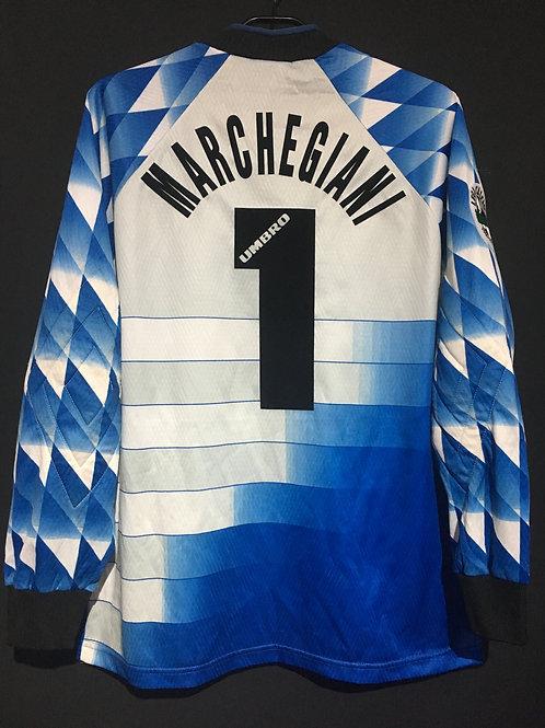 【1996/97】 / S.S. Lazio / Home / No.1 MARCHEGIANI