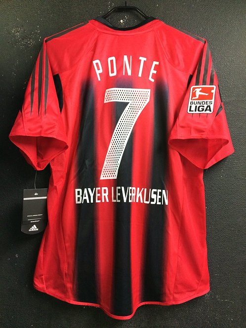 【2004/05】 / Bayer Leverkusen / Home / No.7 PONTE