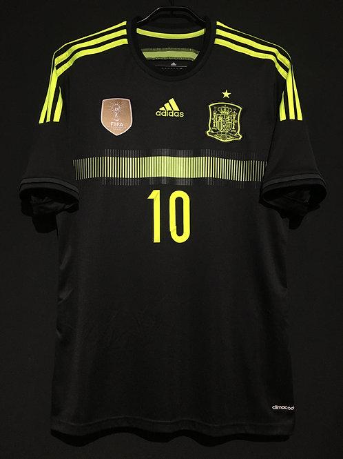 【2014】 / Spain / Away / No.10 FABREGAS