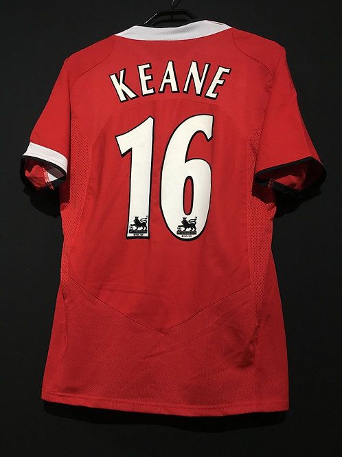 【2004/06】 / Manchester United / Home / No.16 KEANE