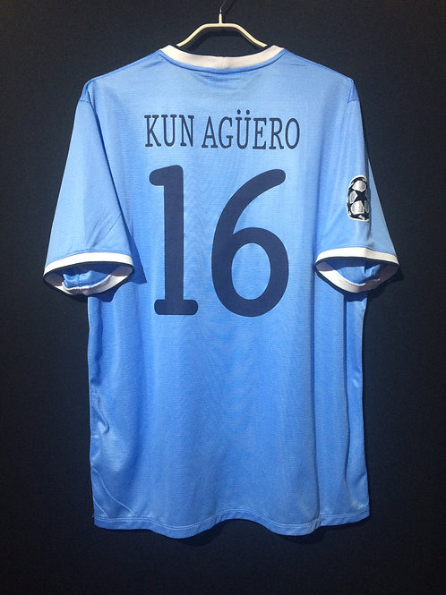 【2013/14】/ Manchester City / Home / No.16 KUN AGUERO / UCL