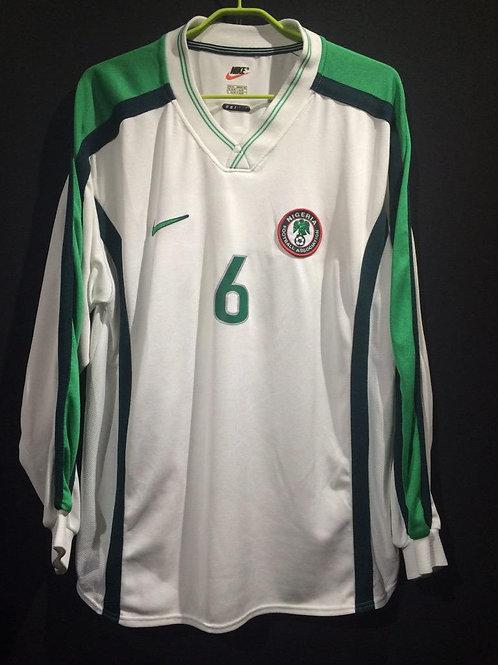 【1998/99】 / Nigeria / Away / No.6 WEST