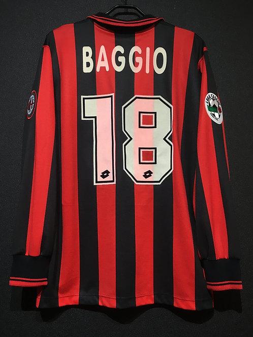 【1996/97】 / A.C. Milan / Home / No.18 BAGGIO