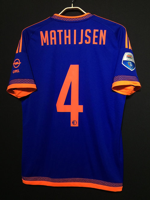 【2015/16】 / Feyenoord / Away / No.4 MATHIJSEN