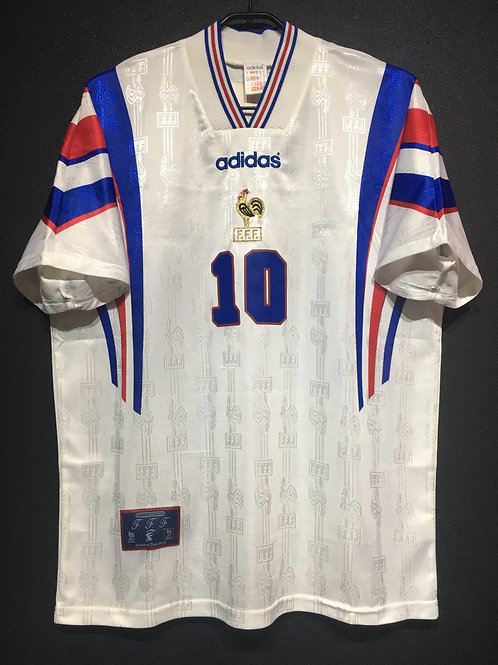 【1996/97】 / France / Away / No.10 ZIDANE