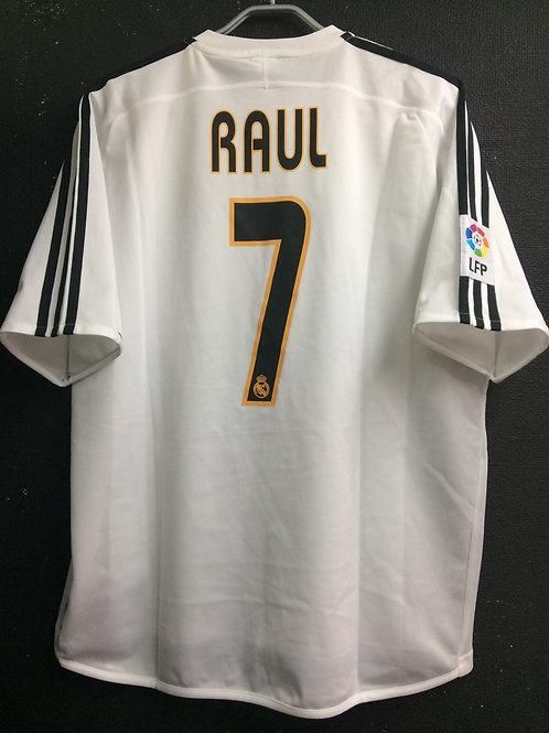 【2003/04】 / Real Madrid C.F. / Home / No.7 RAUL