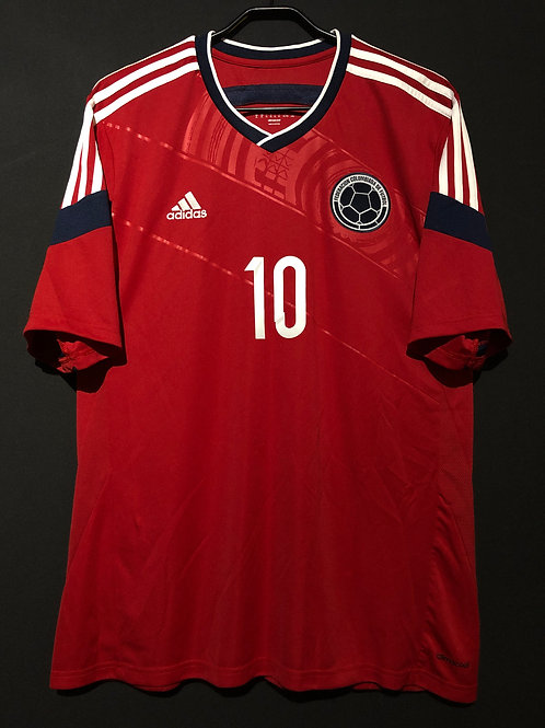 【2014/15】 / Colombia / Away / No.10 JAMES