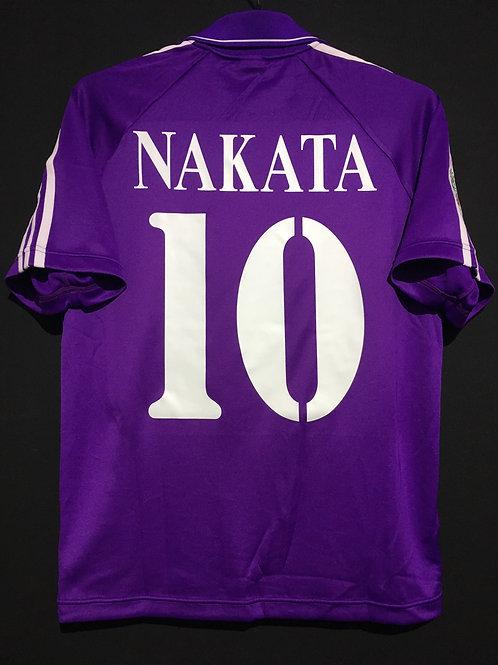 【2004/05】 / ACF Fiorentina / Home / No.10 NAKATA