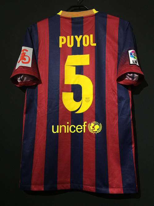 【2014】 / FC Barcelona / Away / No.5 PUYOL / Celebration of the Chinese New Year