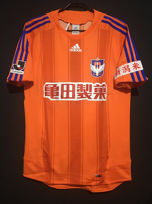 【2009】 / Albirex Niigata / Home / Collaborated with X-LARGE CLOTHING